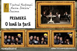 Cabina foto Oak Events la deschiderea stagiunii de la Teatrul National Craiova